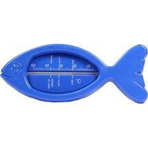 Produktbild Badethermometer Kunststoff Fisch blau