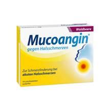 Produktbild Mucoangin Waldbeere 20 mg Lutschtabletten