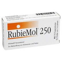 Produktbild Rubiemol 250 Kleinkindersuppositorien