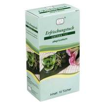 Produktbild Erfrischungstuch grüner Tee