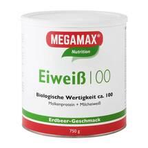 Produktbild Eiweiss 100 Erdbeer Megamax