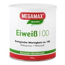 Produktbild Eiweiss 100 Banane Megamax P