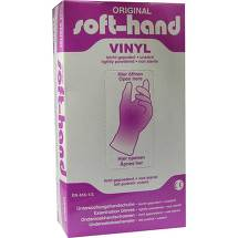 Vinyl Untersuchungshandschuhe gepudert Größe XL