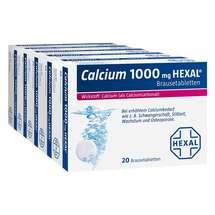 Produktbild Calcium 1000 Hexal Brausetabletten