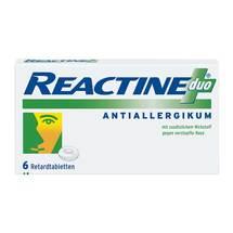 Produktbild Reactine duo Retardtabletten