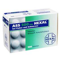 Produktbild ASS 500 Hexal Tabletten