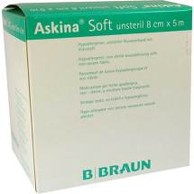 Produktbild Askina Soft Wundverband 5mx8