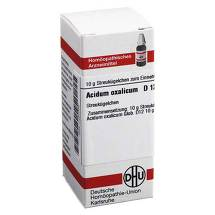 Produktbild Acidum oxalicum D 12 Globuli