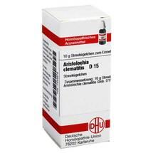 Produktbild Aristolochia clematitis D 15 Globuli