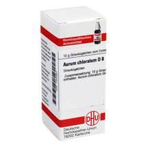 Produktbild Aurum chloratum D 8 Globuli