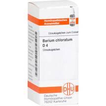 Produktbild Barium chloratum D 4 Globuli