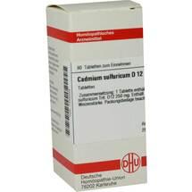 Produktbild Cadmium sulfuricum D 12 Tabletten