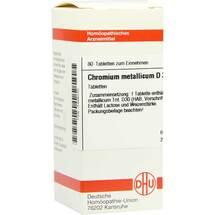 Produktbild Chromium metallicum D 30 Tabletten
