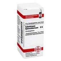 Produktbild Ephedrinum hydrochloricum D 6 Globuli