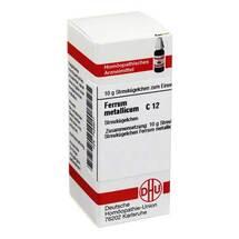 Produktbild Ferrum metallicum C 12 Globuli