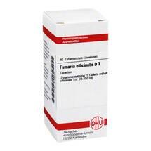 Produktbild Fumaria offic. D 3 Tabletten