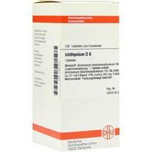 Produktbild Ichthyolum D 6 Tabletten
