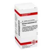 Produktbild Natrium choleinicum D 4 Tabletten