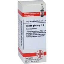 Produktbild Panax Ginseng D 3 Globuli