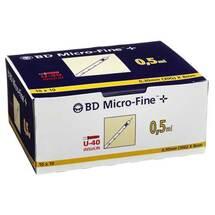 BD Micro-Fine + U 40 Ins.Spr. 8 mm