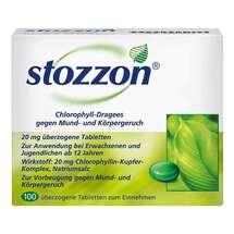 Produktbild Stozzon Chlorophyll überzogene Tabletten
