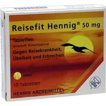 Produktbild Reisefit Hennig 50 mg Tabletten