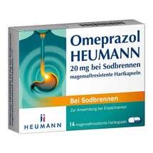 Omeprazol Heumann 20 mg b.Sodbr. magensaftresistent Hartk.
