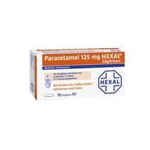 Produktbild Paracetamol 125 Hexal Zäpfchen