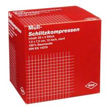 Produktbild Schlitzkompressen Mull 7,5x7