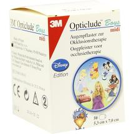 Opticlude 3M Disney Pflaster Boys midi 2538MDPB-50