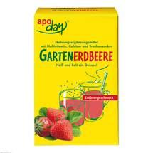 Apoday Gartenerdbeere Multivitamin + Calcium Pulver