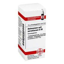 Produktbild Antimonium sulfuratum aurantiacum D 3