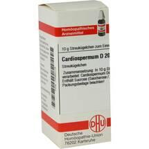 Produktbild Cardiospermum D 200 Globuli
