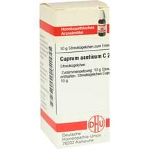 Cuprum aceticum C 200 Globuli