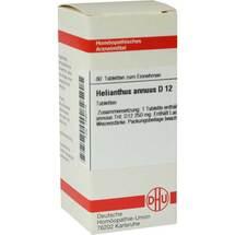 Produktbild Helianthus Annuus D 12 Tabletten