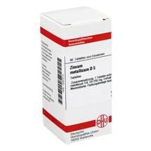 Produktbild Zincum metallicum D 5 Tabletten
