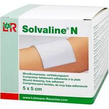 Produktbild Solvaline N 5x5 cm steril Kompressen