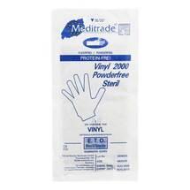 Produktbild Vinyl Handschuhe puderfrei steril mittel