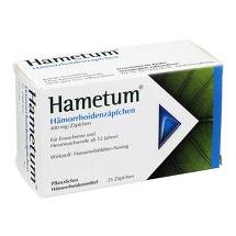 Produktbild Hametum Hämorrhoiden Zäpfchen