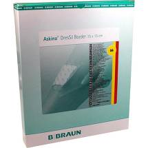 Produktbild Askina Dressil Border Sil.Schaumst.V.15x15cm
