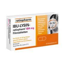 Ibu Lysin ratiopharm 684 mg Filmtabletten