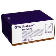 Produktbild BD Plastipak Spr.Sub-Q 26G1 / 2 einges.Ka.