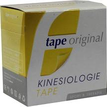 Produktbild Kinesio Tape Original gelb Kinesiologic