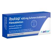 Produktbild Ibutop 400 mg Schmerztabletten Filmtabletten