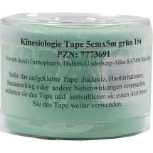 Produktbild Kinesiologie Tape 5 cm x 5 m grün
