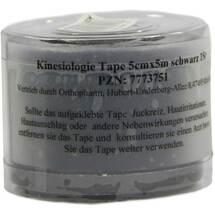 Produktbild Kinesiologie Tape 5 cm x 5 m schwarz