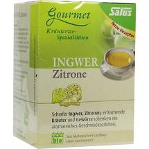 Ingwer Zitrone Tee Salus Filterbeutel