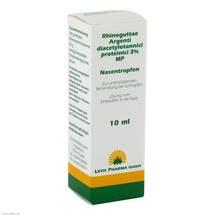 Produktbild Rhinoguttae Argent.Diacet.prot.3% MP Nasentropfen