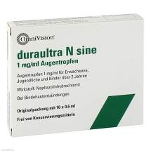Produktbild Duraultra N sine Augentropfen