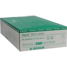 Produktbild Vasco Nitril white Untersuchungshandschuhe Größe M
